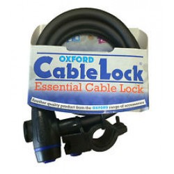 Oxford LK679 Cable Lock 12 X 650Mm