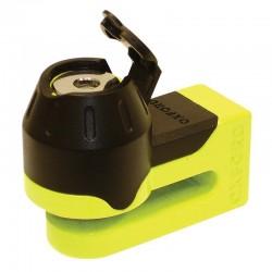 Oxford OF49 Yellow Mini T Disc Lock