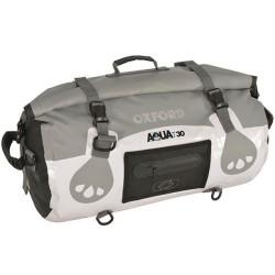 Oxford OL970 Aqua T-30 Roll Bag - White/Grey