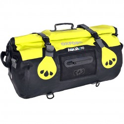 Oxford OL982 Aqua T-70 Roll Bag - Black/Fluo