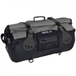 Oxford OL992 Aqua T-70 Roll Bag - Black/Grey
