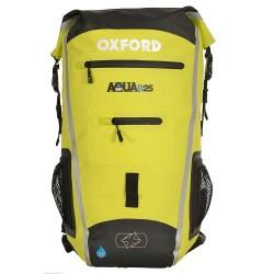 Oxford OL961 Aqua B-25 Backpack Black/Fluorescent Colour