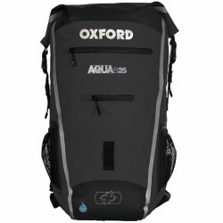 Oxford OL962 Aqua B-25 Backpack Black/Grey Colour