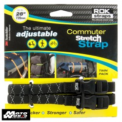 Oxford ROK33 Adjustable Rok Straps LD 12mm