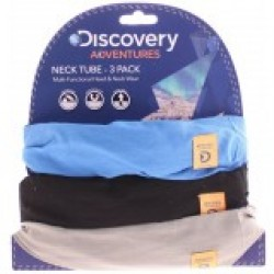 Oxford DANW114 Discovery Adv Neck Tubes Blue/Blk/Gry