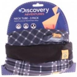 Oxford DANW108 Discovery Adv Neck Tubes B&W Tartan