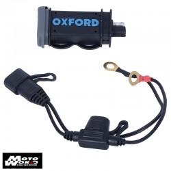 Oxford EL114 USB 2.1 Amp Fused Power Charging Kit