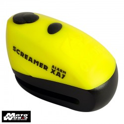 Oxford LK280 Screamer X47 Alarm Disc Lock Yellow/Matt Black