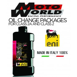 ENI (AGIP) iRide 10W50 Fully Synthetic Engine Oil Package with HiFlo Oil Filter