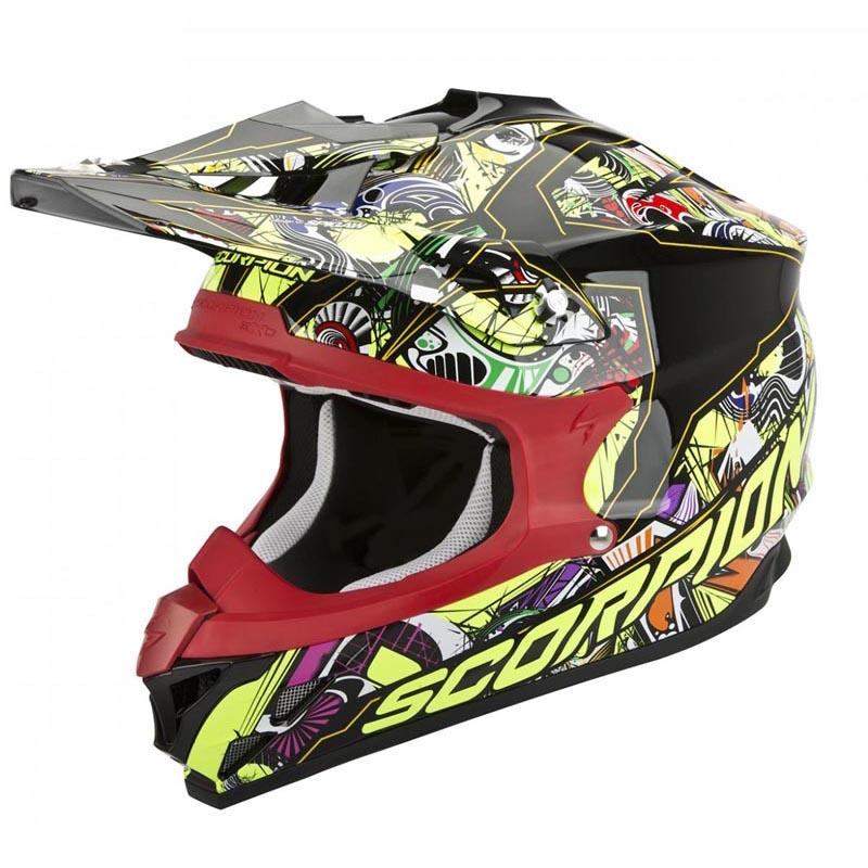 Scorpion VX-15 EVO AIR Vector Off-Road Motorcycle Helmet