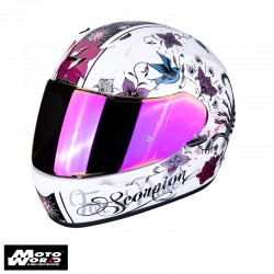Scorpion EXO 390 Chica Pearl Full Face Motorcycle Helmet