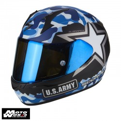 Scorpion EXO 390 Army Full Face Motorcycle Helmet