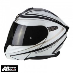 Scorpion EXO 920 Ritzy Motorcycle Helmet - Black-White