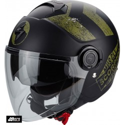 Scorpion EXO City Heritage Jet Open Face Motorcycle Helmet