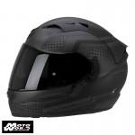 Scorpion EXO-1200 AIR Alias Matt-Black-Argent Motorcycle Helmet