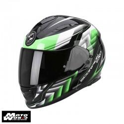 Scorpion EXO-510 AIR Scale Black-Green Motorcycle Helmet