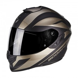 Scorpion EXO 1400 Air Freeway II Motorcycle Helmet - Matt Black-Titanium