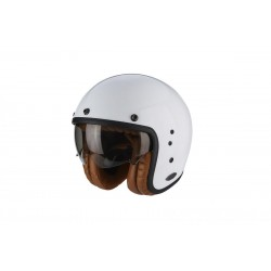 Scorpion Belfast Luxe Motorcycle Helmet - White-Large