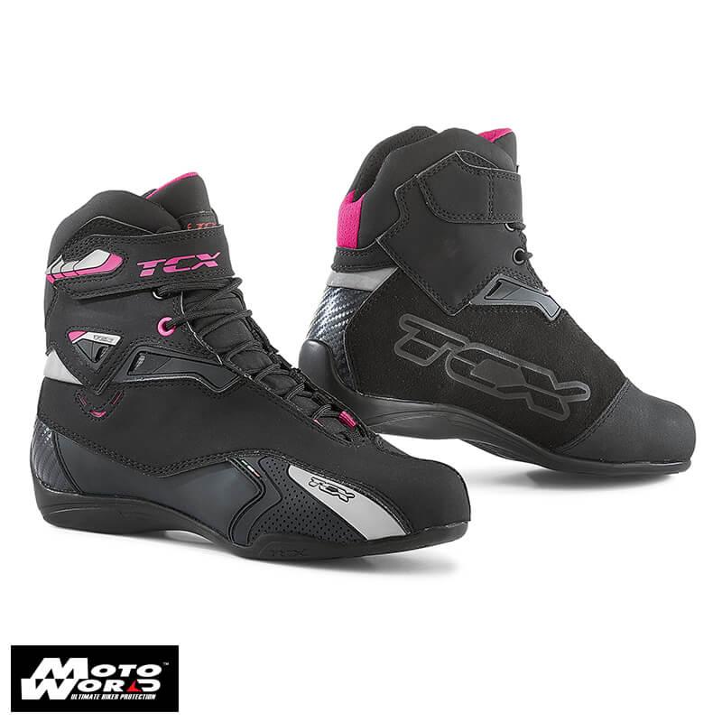 TCX 9506W Rush Lady Black/Fucsia Waterproof Boots