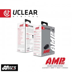 U CLEAR AMP Go Bluetooth Helmet Audio System