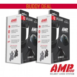 U clear AMP 100 Buddy Deal Helmet Bluetooth System - 2 Boxes