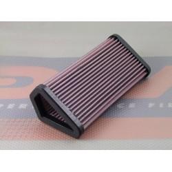 DNA RDU10S0701 High Performance Air Filter for Ducati MULTISTRADA 1200 10-11/ DIAVEL STRADA 13-15/ DIAVEL DARK 13-15/ 1098S 07-08/ STREETFIGHTER 848 12-15