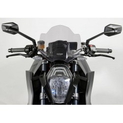 "MRA Racing Windscreen ""NRM"" KTM 1290 Super Duke R 13 Smoke"