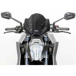 "MRA Racing Windscreen ""NRM"" KTM 1290 Super Duke R 13 Black"