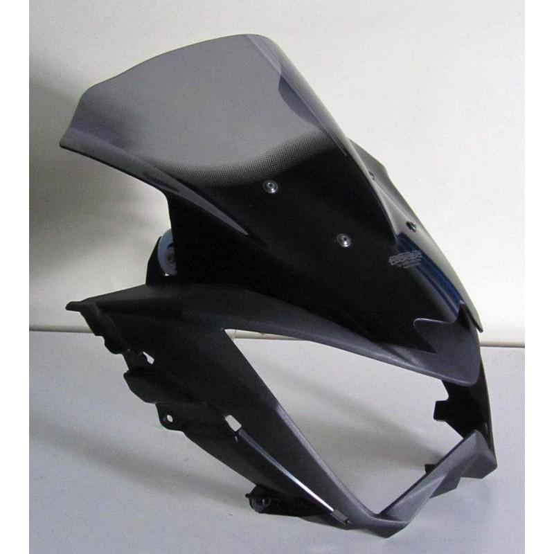 "MRA R1 ZX10R 11- MRA Racing Windscreen ""R"" ZX10R 11 Smoke Grey"