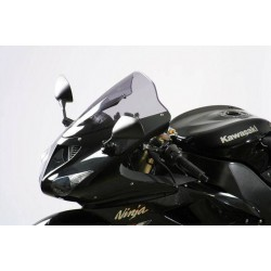 "MRA ZX636 / ZX6R 05-08 / ZX 10 R 06-07 Racing Windscreen ""R"" Smoke Grey"