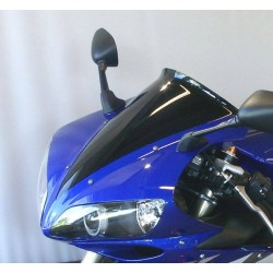 "MRA Spoiler Windscreen ""S"" YZFR1 04-06 Shadow Line"