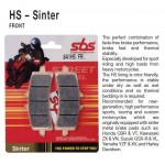 SBS 826H.HS Front Sinter Brake Pad for Harley Davidson Road King Classic 07