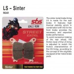 SBS 763LS Rear Sinter Brake Pad for MV Agusta F4RR 08-11