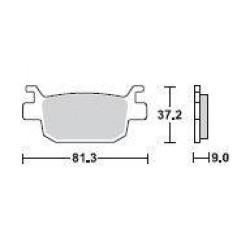 SBS 193HF Front Ceramic Brake Pad for Honda SH 150i