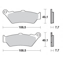 SBS 674HS Front Sinter Brake Pad for BMW R1200GS 13
