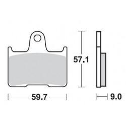 SBS 765LS Rear Sinter Brake Pad for Suzuki GSXR1000 01-06