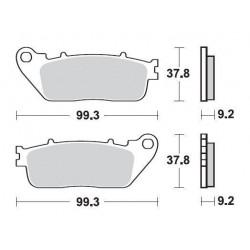 SBS 862LS Rear Sinter Brake Pad for Honda CB1000R 08