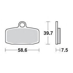 SBS 885RS1 Sinter Off Road Racing Brake Pad for KTM 350 Freeride 12-