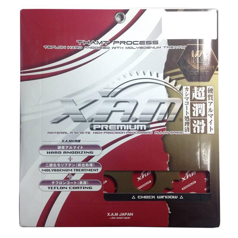 XAM A4509R Hard Anodized Rear Sprocket for Ducati 848 08- 38T 520 Convert