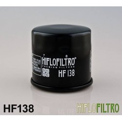 Hiflo Oil Filter HF 138 for Suzuki Bikes