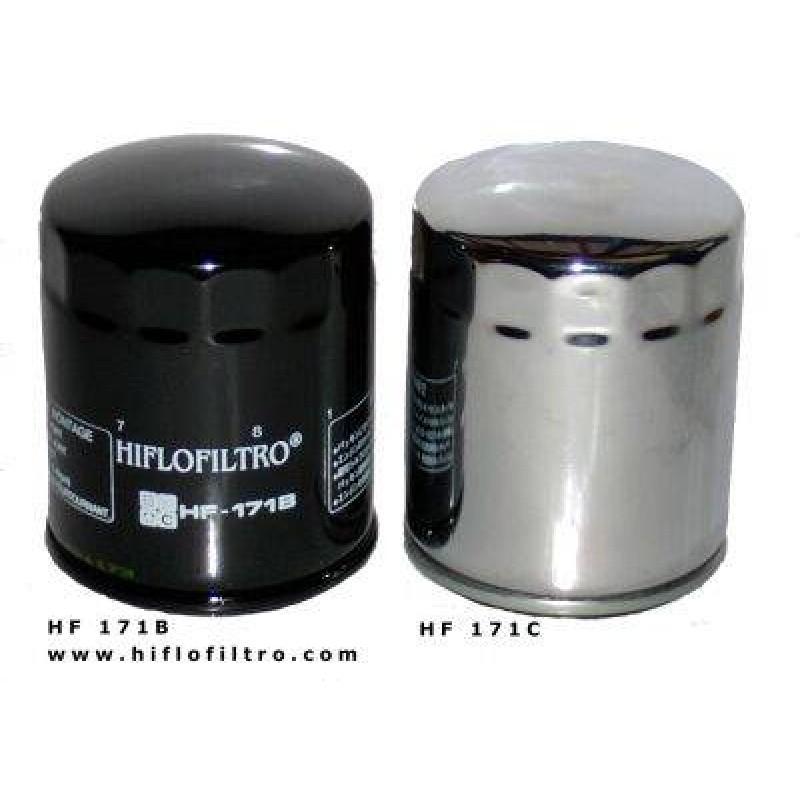 Hiflo Oil Filter HF 171 for Harley Davidson (Chrome)