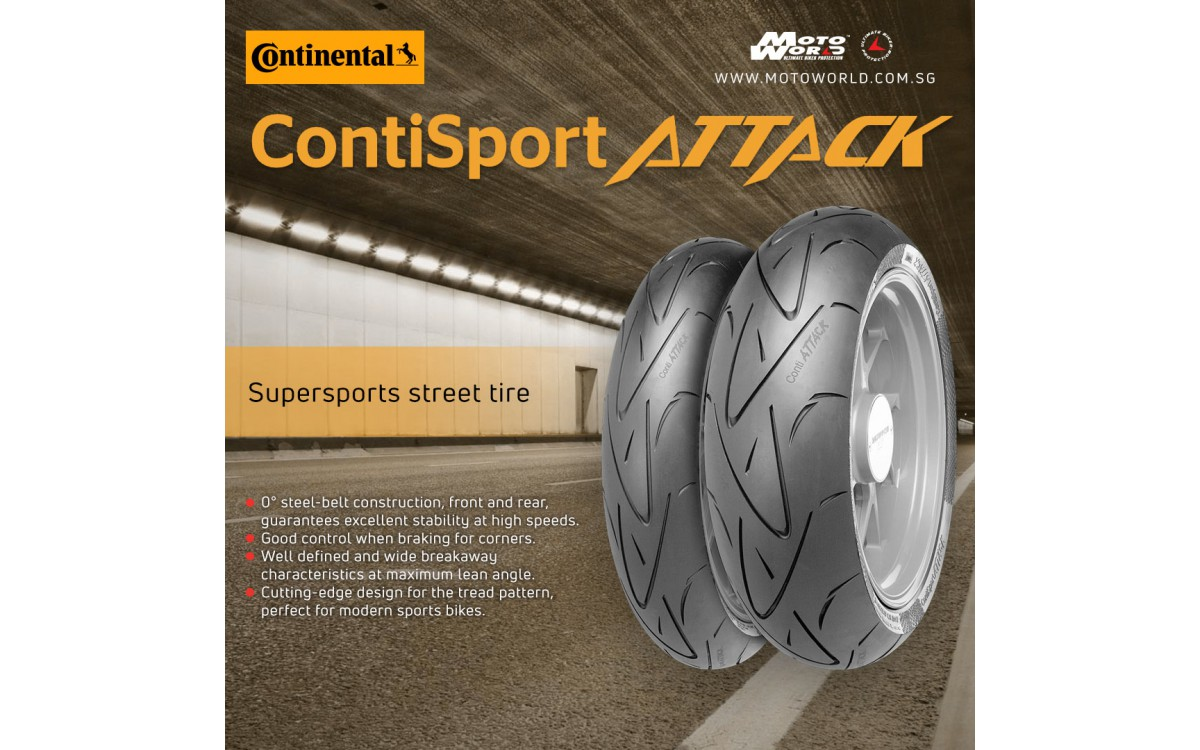 Continental Motorcycle Tyres Singapore