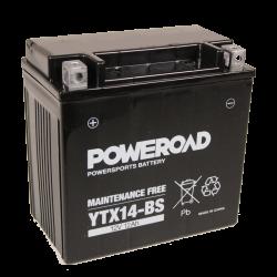 Poweroad YTX14H-BS Maintenance-Free Acid Battery